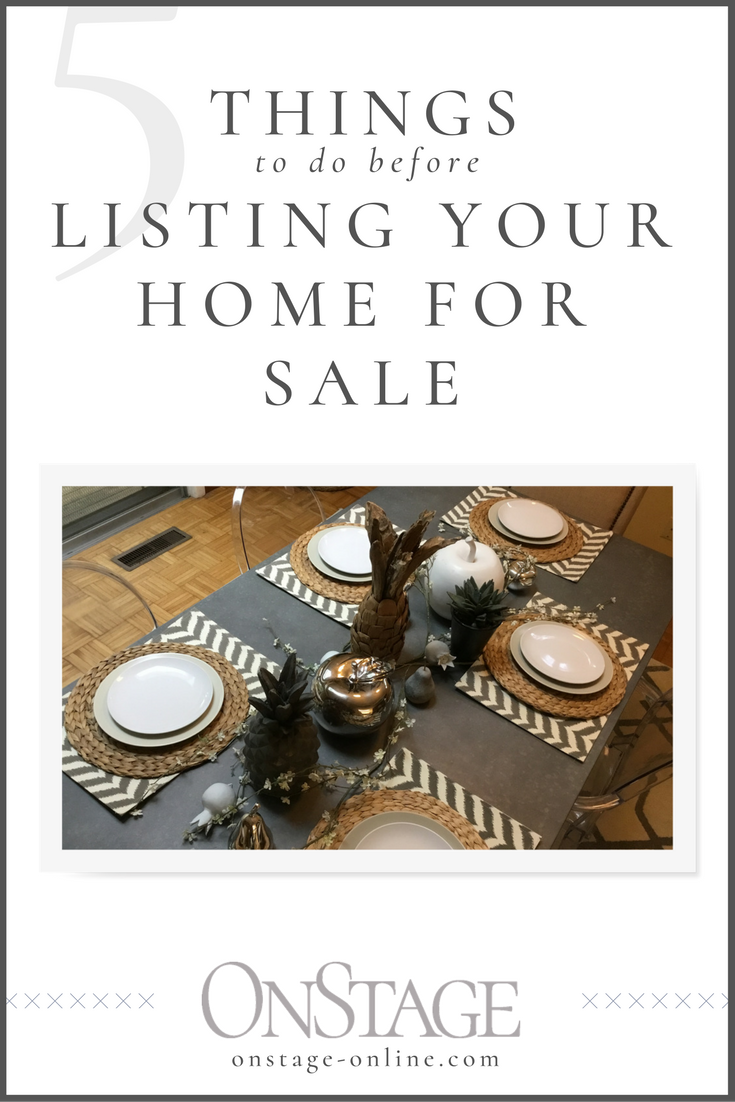 Read now or pin for later. Do these things before listing your home for sale.