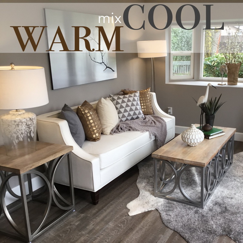 Mix Warm and Cool – the key to a friendly house