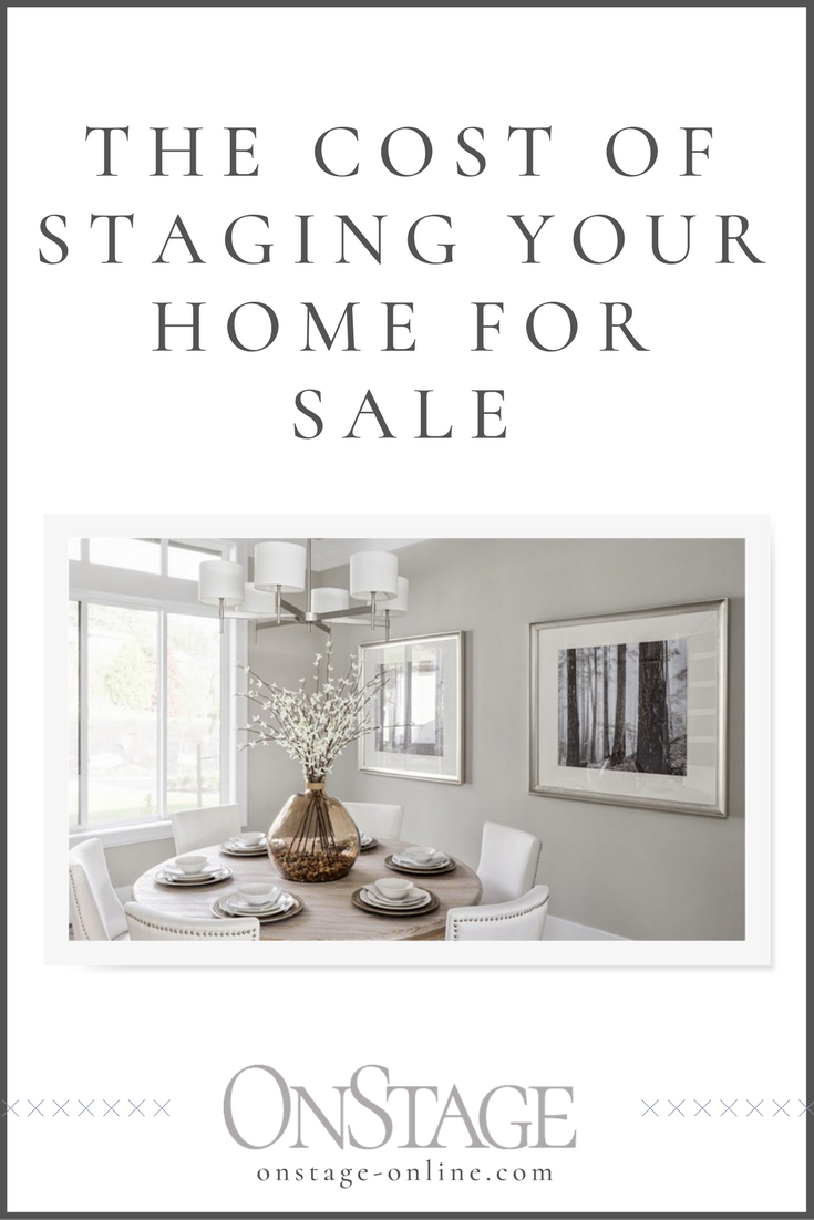 What does it really cost to stage your home? Is it worth it? Read now or pin for later.
